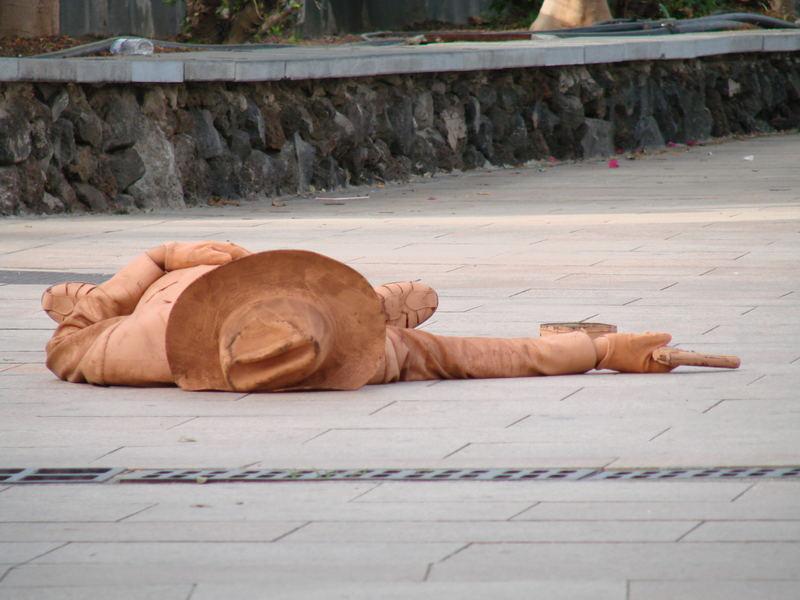 der Schütze auf Gran Canaria