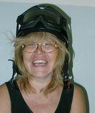 """Der schwarze Helm"" als Frohsinnspender :-)"