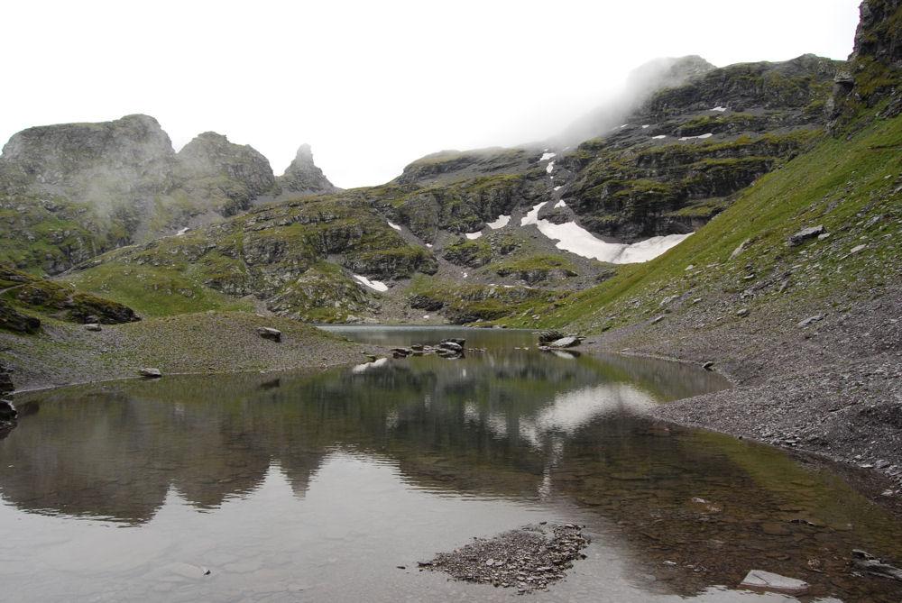 Der Schwarzsee am Pizol