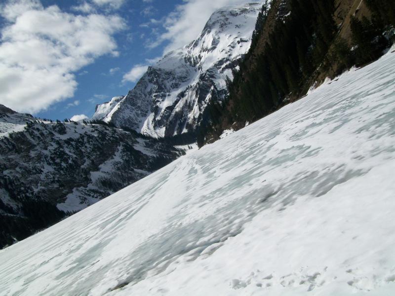 Der See am Berg