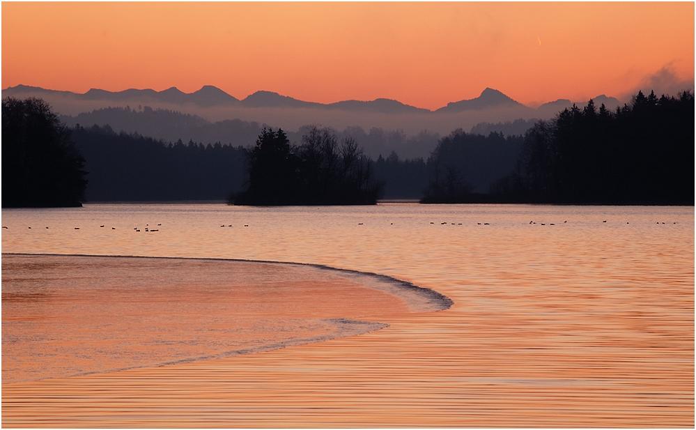 Der See erwacht