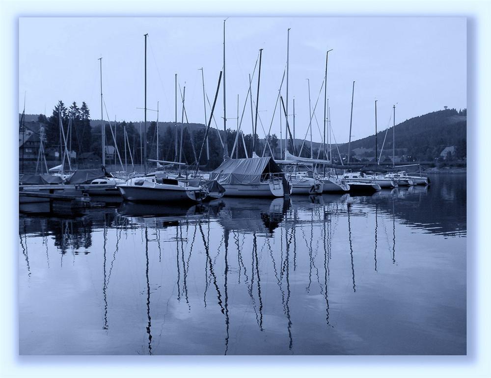 Der See lockt