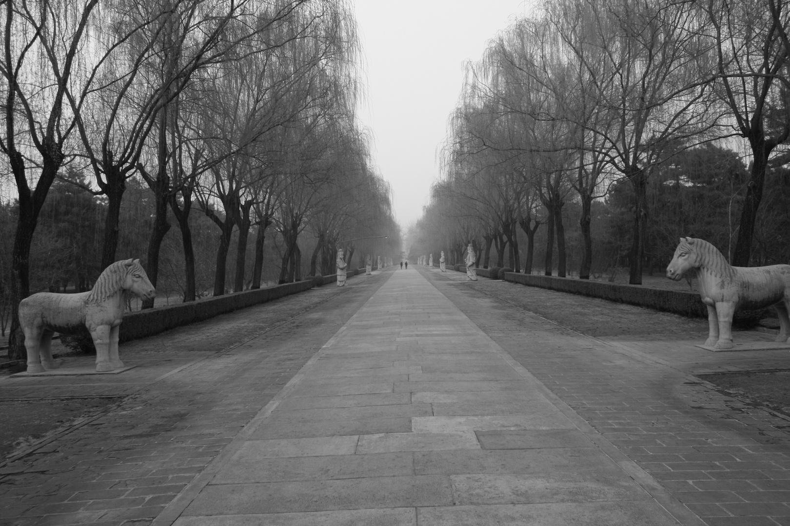 Der Seelenweg der Ming-Gräber