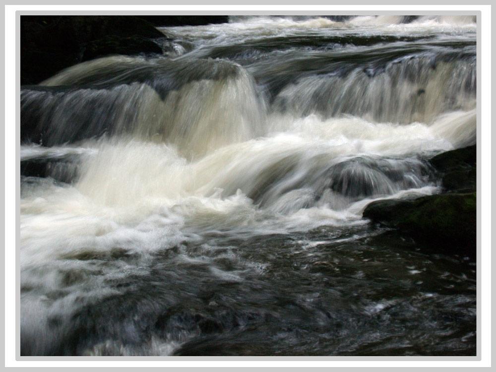 Der Selkewasserfall...