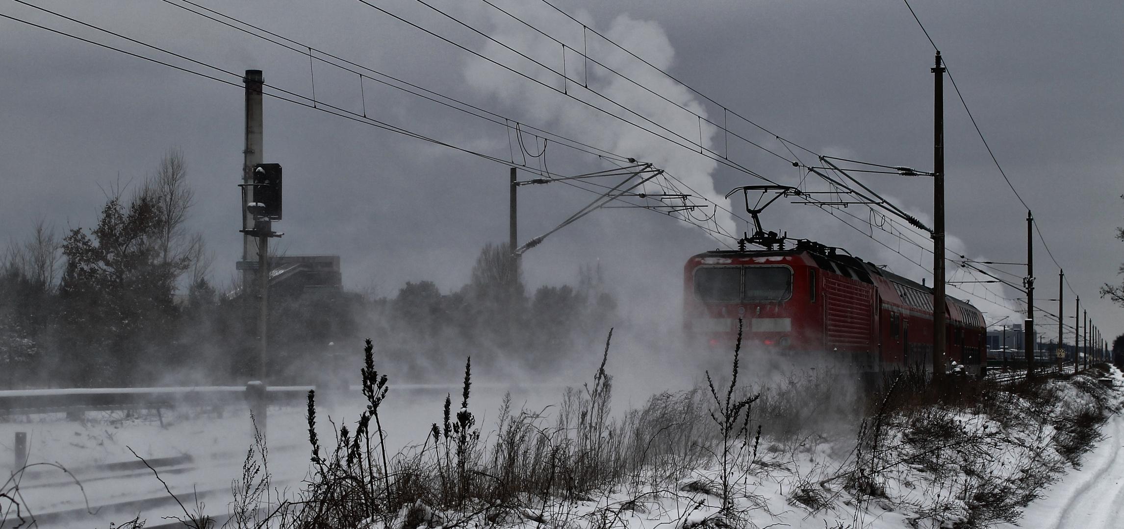"""Der """"Sibirische Winter"""" ist zurück..."""