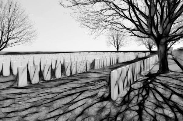 der Soldatenfriedhof
