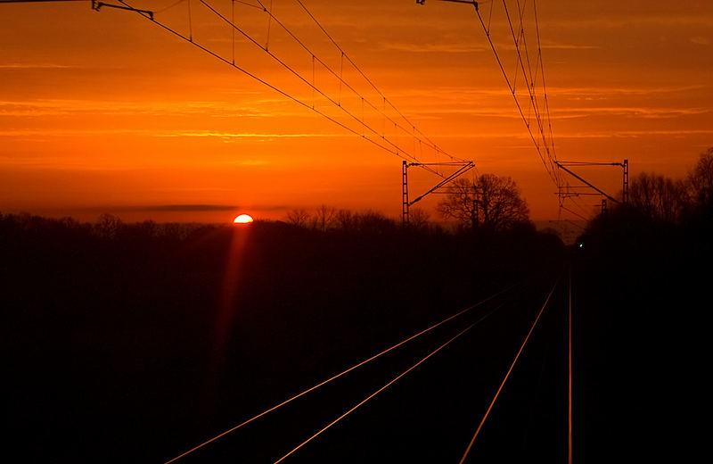 Der Sonne entgegen!!