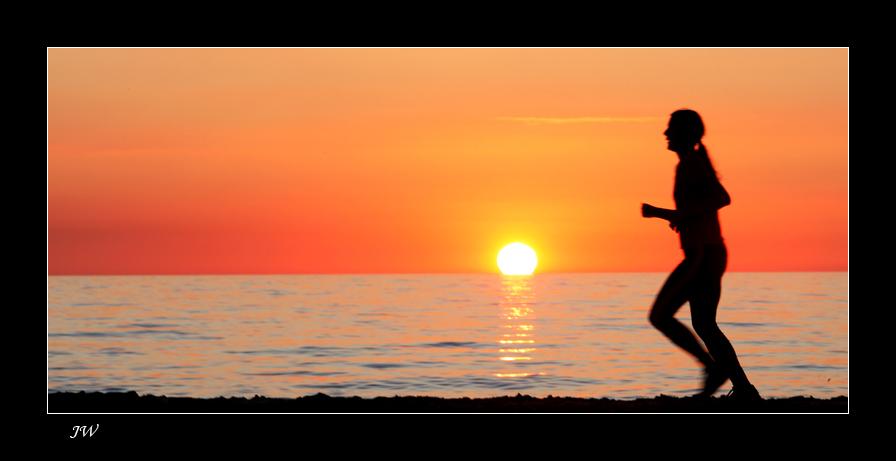...der Sonne hinterher