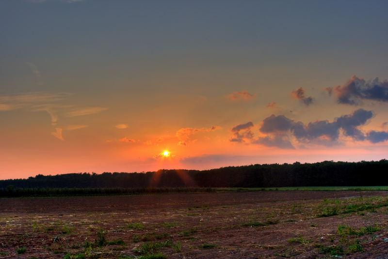 Der Sonnenuntergang - HDR