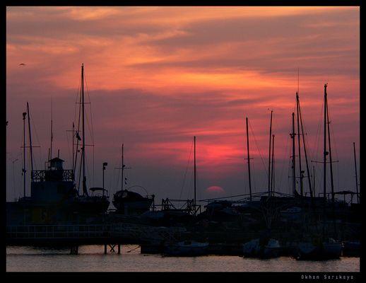Der Sonnenuntergang in Antofagasta 2