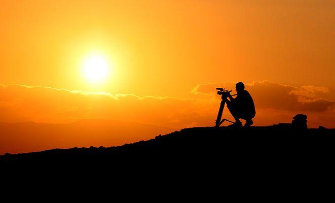 Der Sonnenuntergangsfilmer