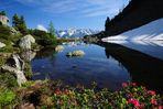 Der Spiegelsee in Piechl - bei Schladming