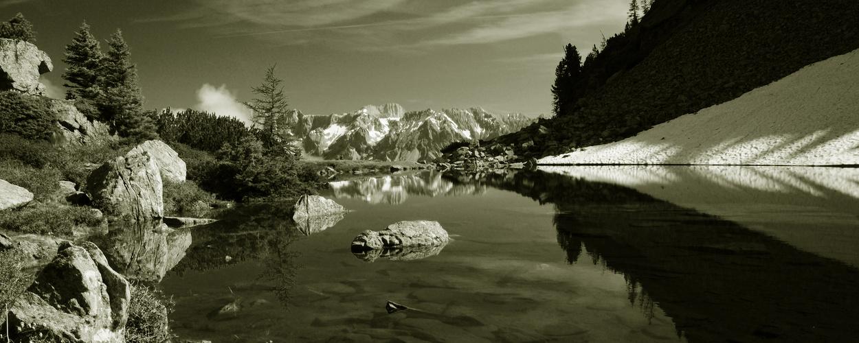 Der Spiegelsee in Piechl - bei Schladming II