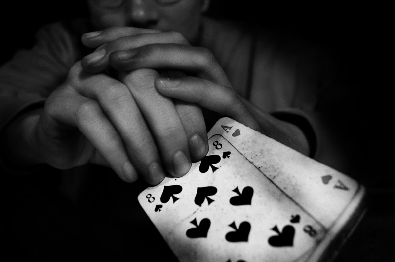 Der Spieler.