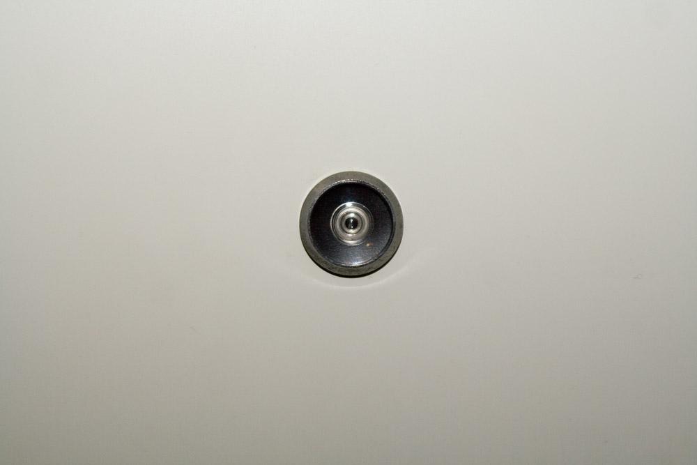 Der Spion an meiner Tür