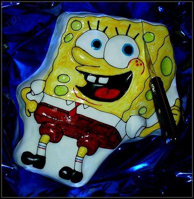 """Der """"Spongebob"""" Kuchen"""