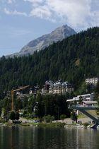 Der St. Moritzsee...