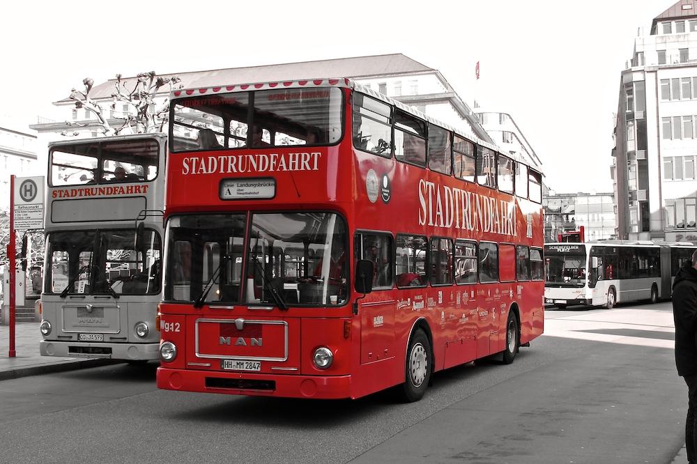 Der Stadtbus.