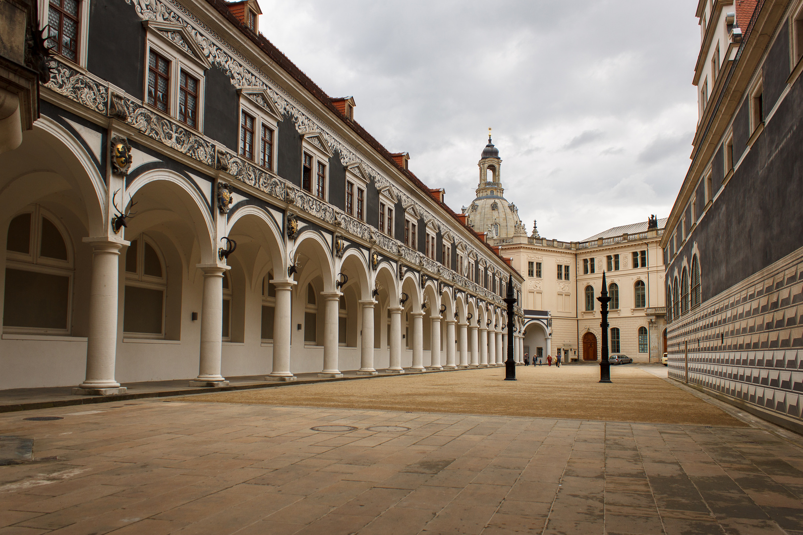 Der Stallhof in Dresden