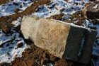 Der Stein auf dem Feld