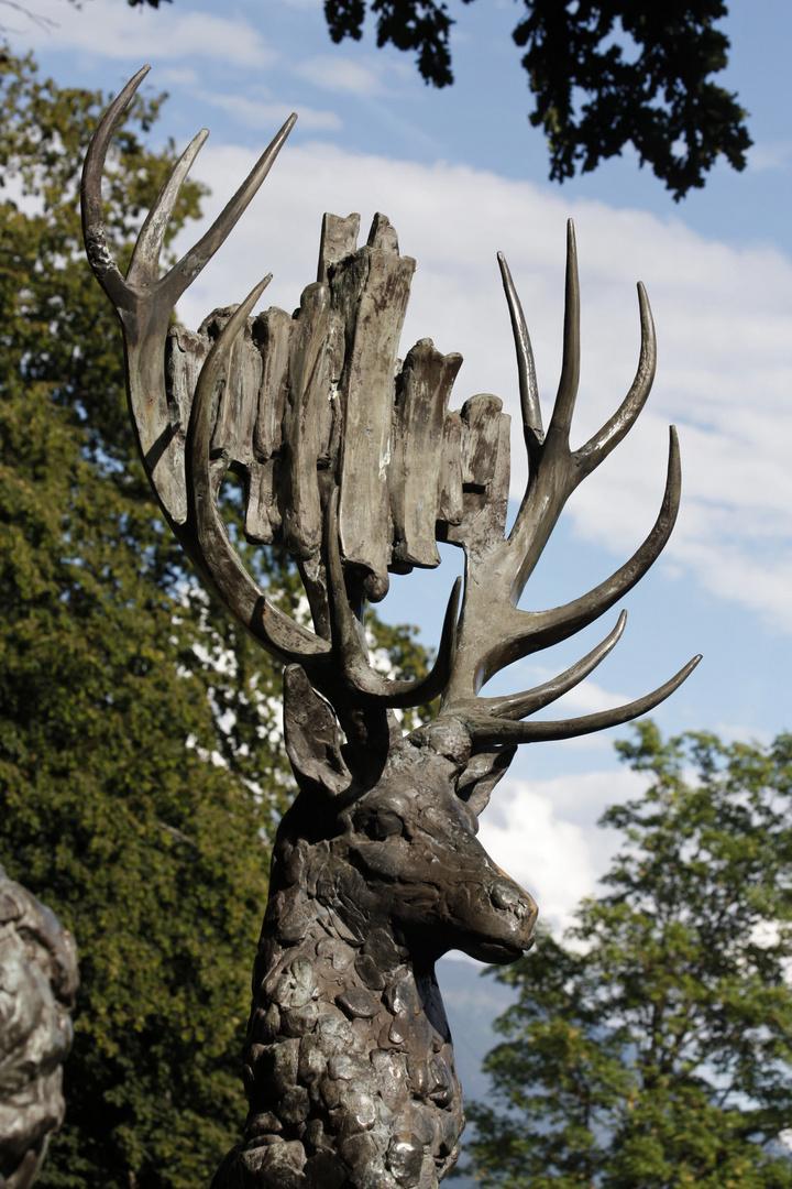 Der steinerne Hirsch