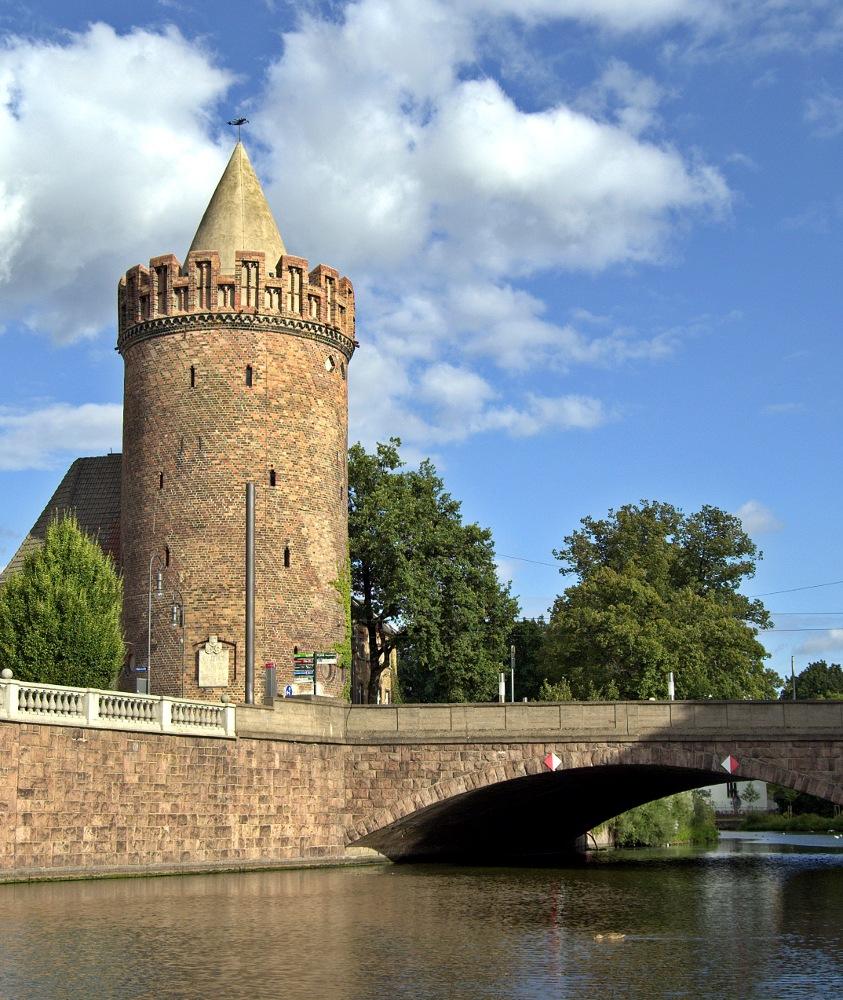 Der Steintorturm in Brandenburg an der Havel