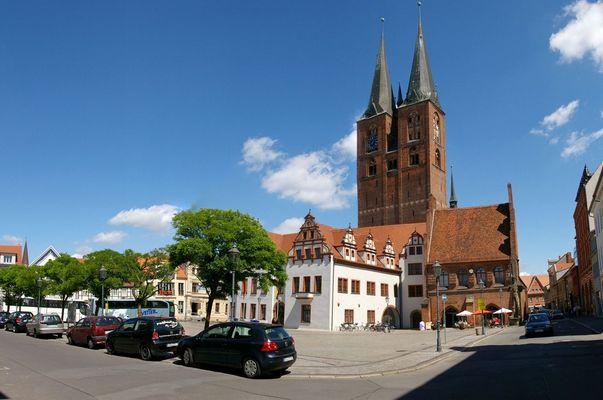 Der Stendaler Marktplatz