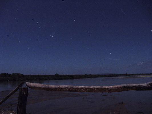 Der Sternenhimmel auf der anderen Seite der Welt...