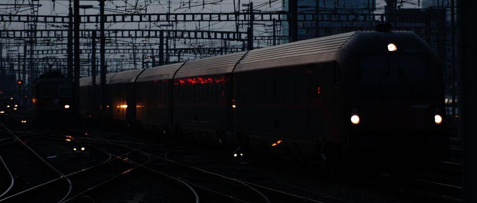 Der Steuerwagen des Railjet der ÖBB