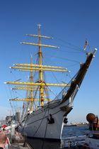 der Stolz der deutschen Marine, die GORCH FOCK