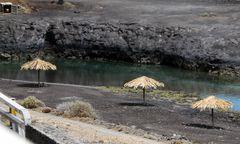Der Strand am Flughafen Sta.Cruz de La Palma