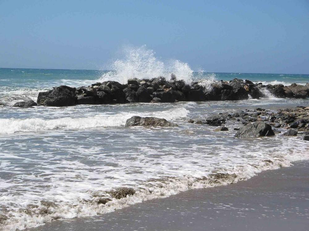 Der Strand bei Maspalomas