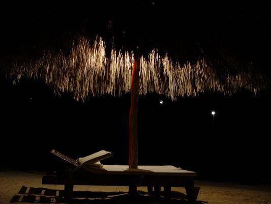 Der Strand bei Nacht!