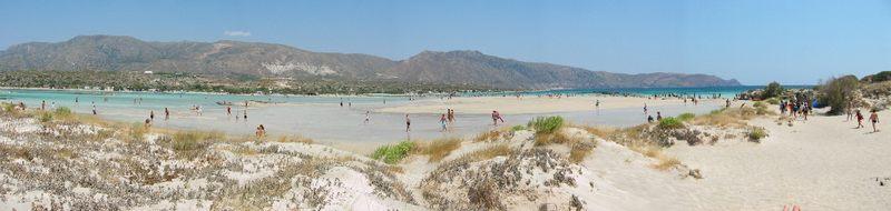 Der Strand von Elafonissi