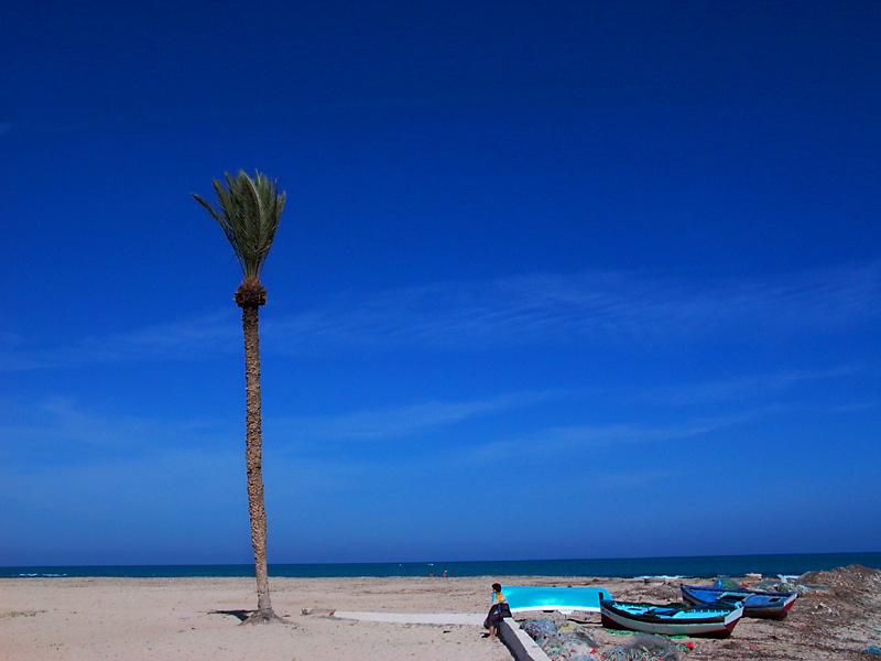 Der Strand von Hotel Zarzis