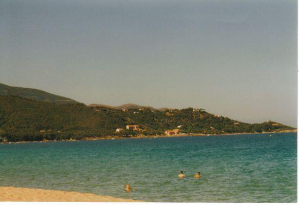 Der Strand von Korsika