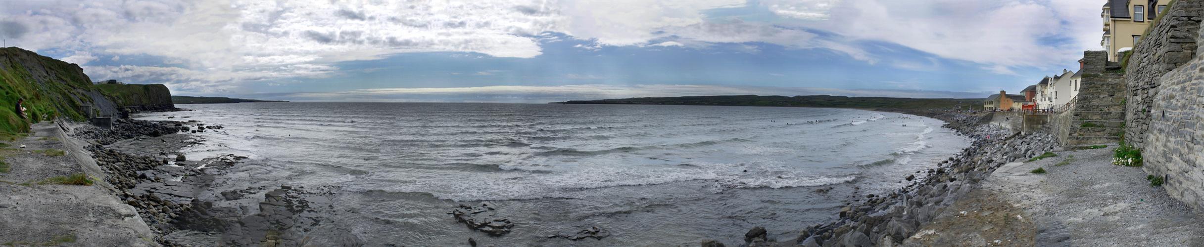 Der Strand von Lahinch