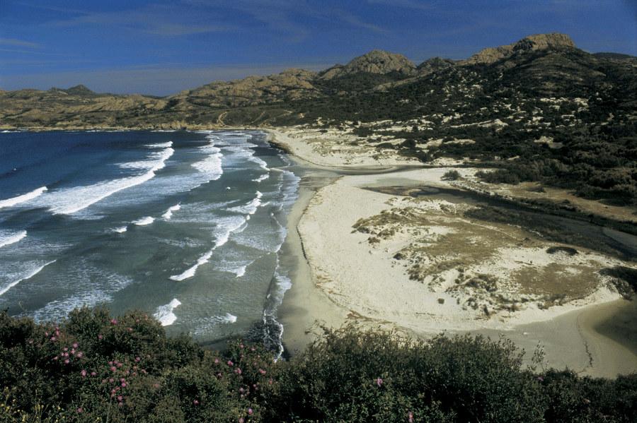 Der Strand von Ogliastro