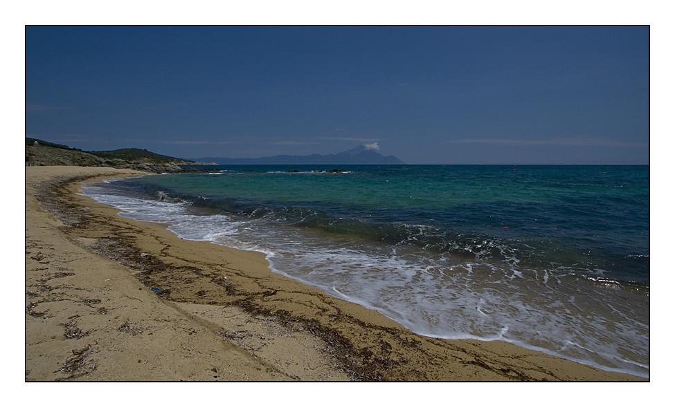 Der Strand von Sarti - Sithonia
