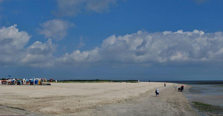Der Strand von Schillig - Horumersiel