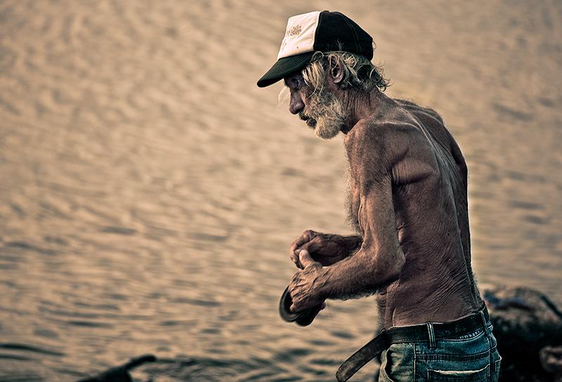 Der Straßenfischer