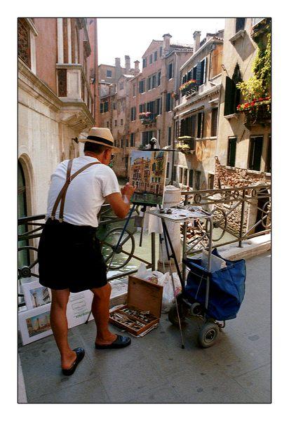 Der Straßenmaler