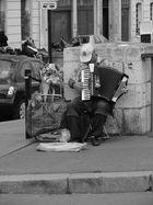 Der Strassenmusiker von Paris