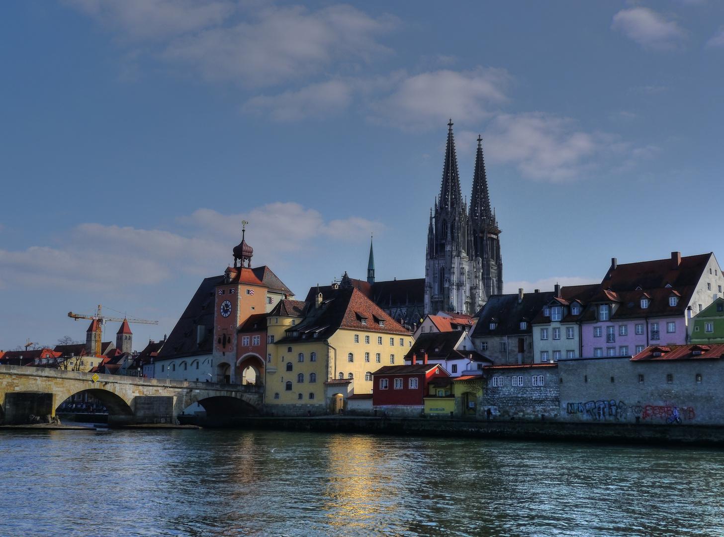 ... der Strudel bei Regensburg
