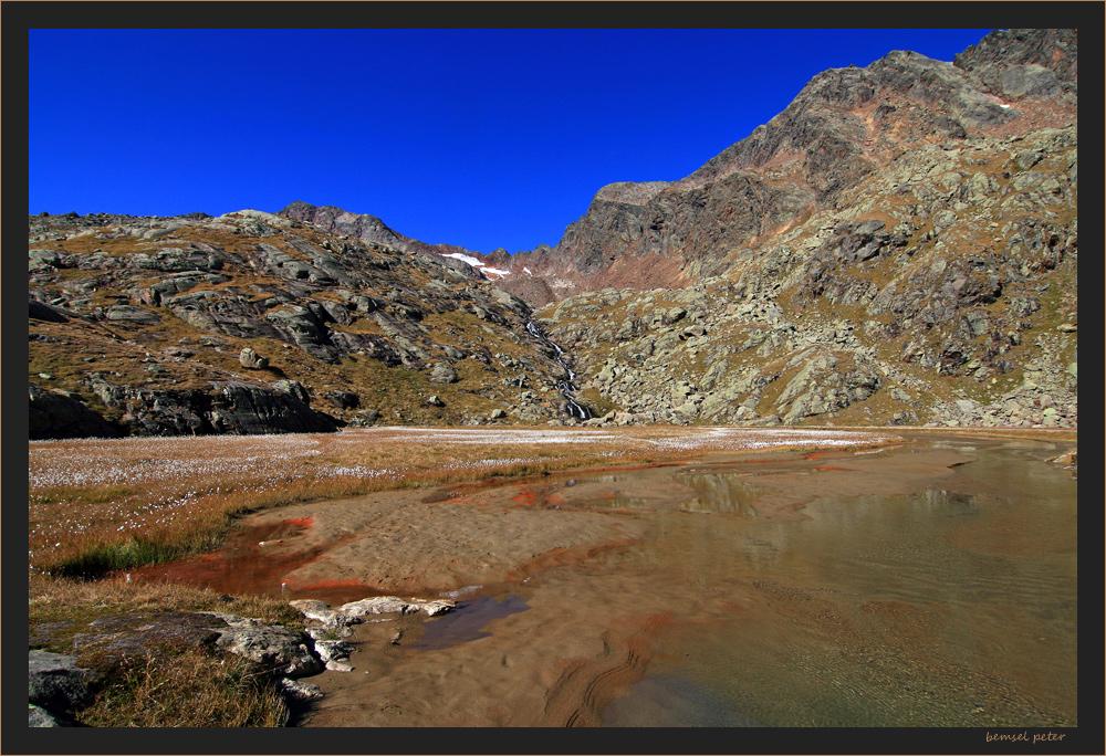 der Stubensee mit Stubenferner, oder was davon noch übrig ist