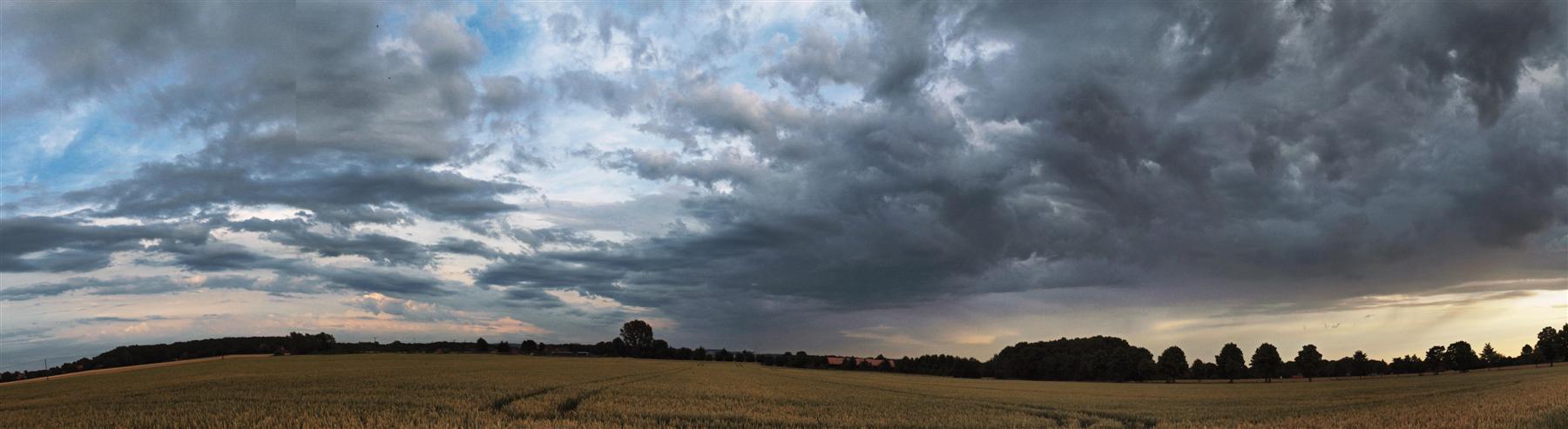 Der Sturm vor der Ruhe....