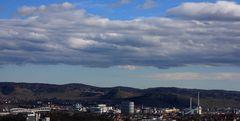 Der Stuttgarter Osten vom Killesberg aus gesehen
