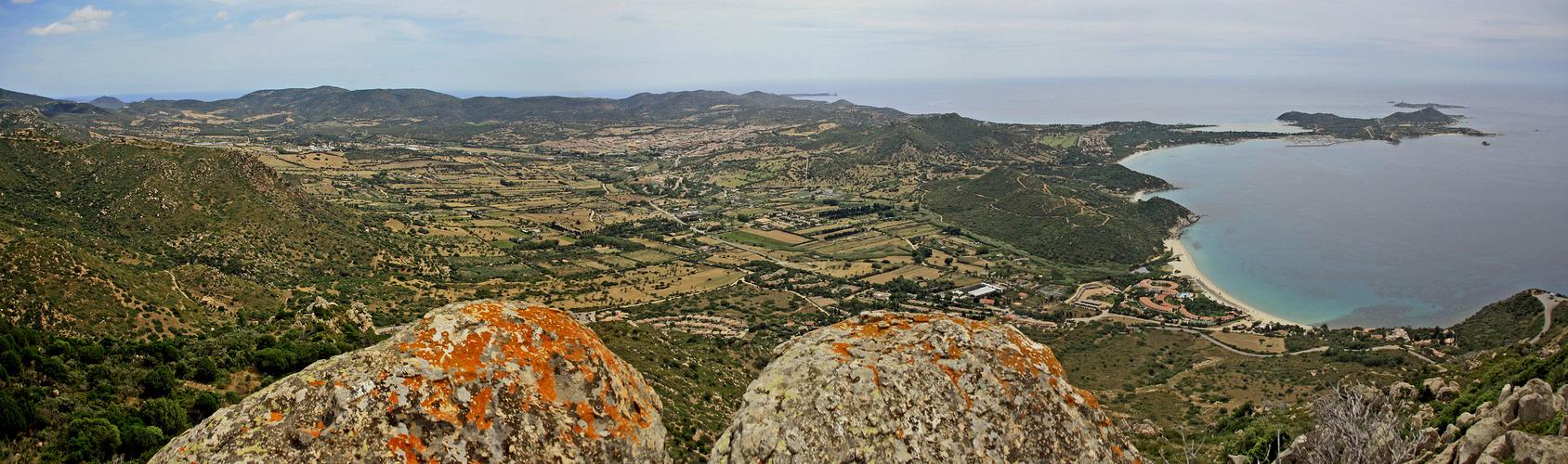 Der Südostzipfel Sardiniens!