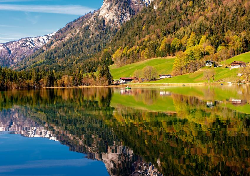 Der Superplatz für Fotografen - der Hintersee im NP Berchtesgaden
