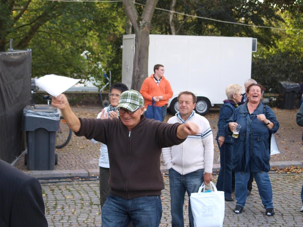 Der Tag der Deutschen Einheit in Saarbrücken war lustig ...